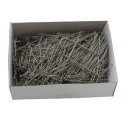 Medium Fine Nickel Plated Steel Short Flanders 34mm x 0.60mm  100g box