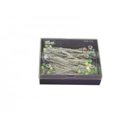 Glass headed pins Assorted colours 48mm x 0.80mm 30 g box