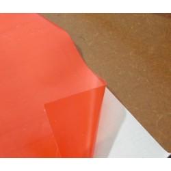 Matt Film Orange 450mm wide